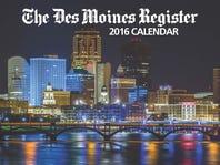 The Des Moines Register's 2016 calendar.