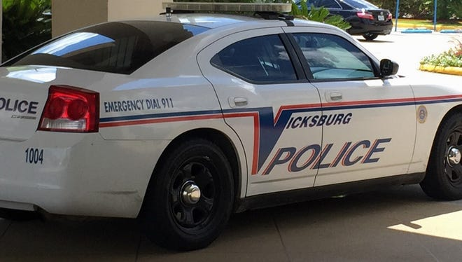 A Vicksburg police cruiser is shown in this file photo.