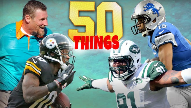 A look at the 50 things we learned from Week 6.