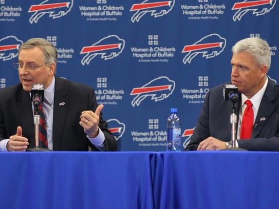 A report claims that Bills owner Terry Pegula will