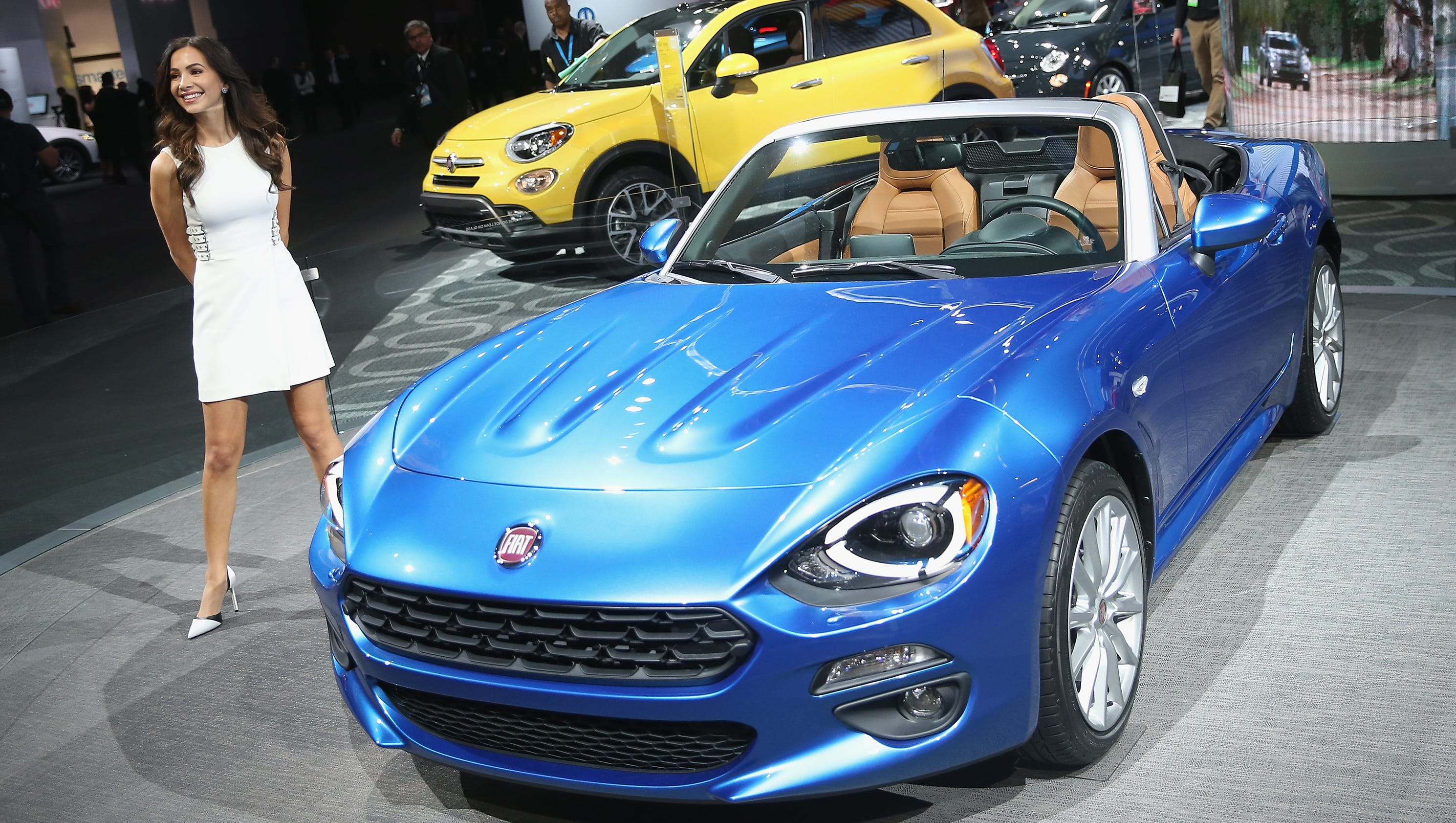 New Car Models Wow At Detroit Auto Show