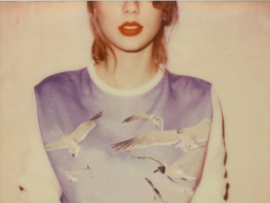 Album sleeve for Taylor Swift's '1989,' out Oct. 27,