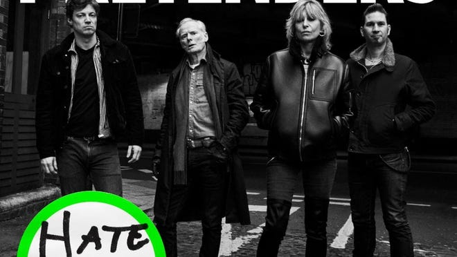 """This image released by BMG shows """"Hate For Sale,"""" the latest release by The Pretenders."""