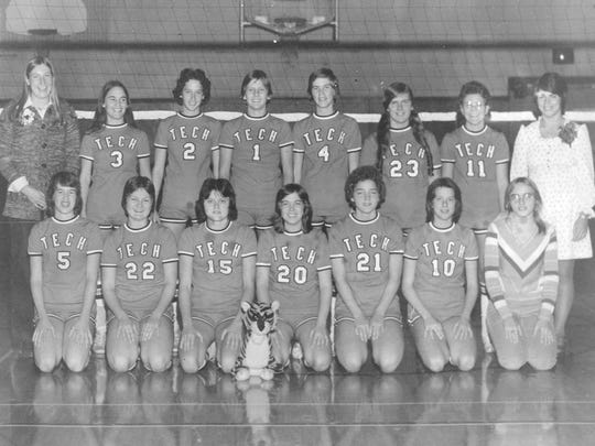 The 1975 Technical High School volleyball team was