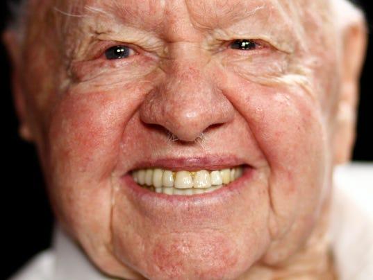 AP Mickey Rooney Portrait