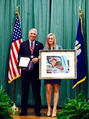 Congressman Ralph Abraham, announced Monday that Quitman High School senior Abbie Lawson has won the annual Congressional Art Competition for Louisiana's 5th District.