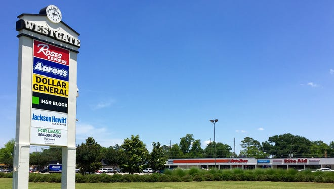 Westgate Shopping Center on MacArthur Drive is for sale.