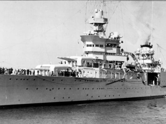 When the cruiser USS Indianapolis was sunk no one knew about it for four days. Hundreds of sailors died in the shark-infested waters until a Navy PBY search and rescue plane piloted by Hoosier Adrian Marks discovered the bodies.