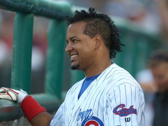 Manny Ramirez Iowa Cubs Winning Single
