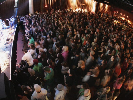 It was a standing room only at a sold-out show of Rusted