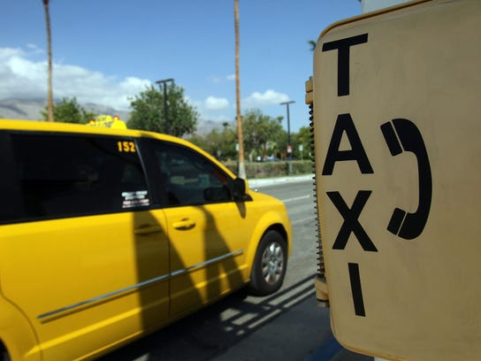 Uber and Lyft drivers will now be allowed to pick up passengers at the Palm Springs airport, like taxis and limos.