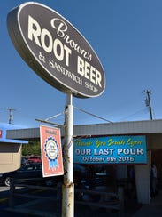 Brown's Root Beer and Sandwich Shop, a fixture in South