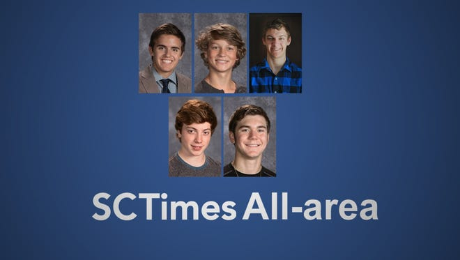 All-Area Boys Nordic Ski Team