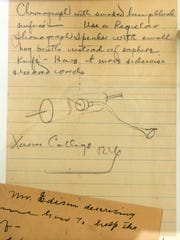 Interested in education for the deaf, Sister Blandina Segale wrote to Thomas Edison in 1911, asking him to design a device to help people hear. Edison replied with a description and sketch of a hearing aid prototype.