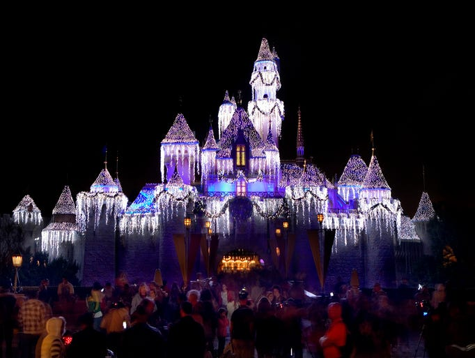 Disneyland Lights Up The Holidays