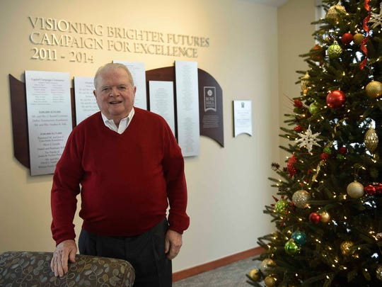 Dan Kelly, founder of the Rose Hill Center in Holly.