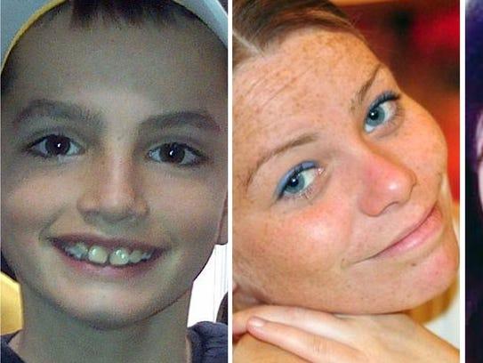 Las tres víctimas del atentado en Boston (de izquierda
