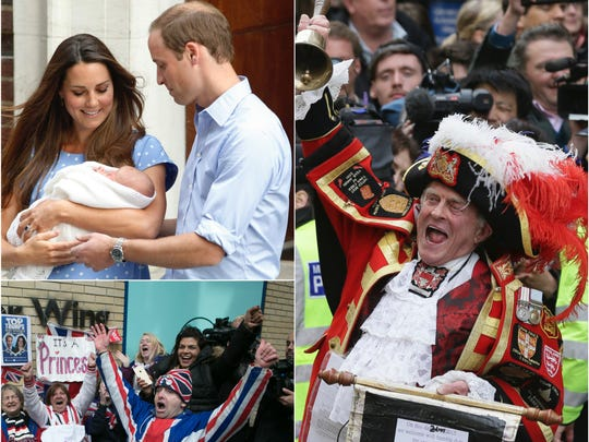 A royal baby collage!