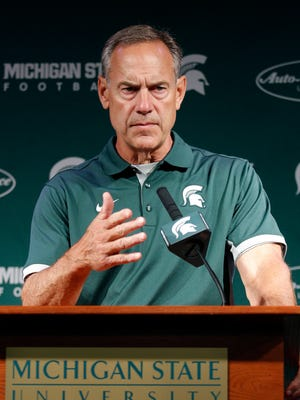 Michigan State head football coach Mark Dantonio.