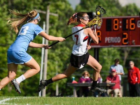 South Burlington vs. CVU Girls Lacrosse 06/06/18