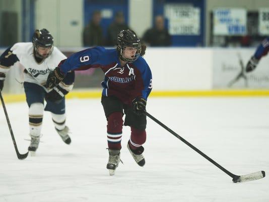 Spaulding vs. Essex Girls Hockey 02/10/16