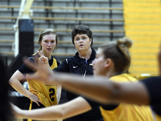 Southern Miss women's basketball coach Joye Lee-McNelis