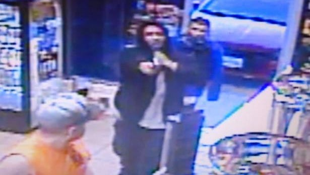 Police say two men walked into the Mesa Smoke Shop, 4300 N. Mesa St., on the afternoon of Jan. 30 and robbed it.