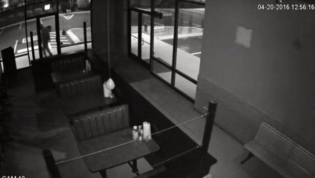Surveillance footage screen grab.