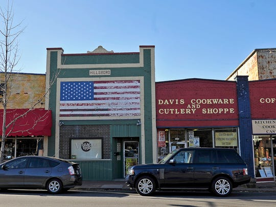Hillsboro Village has a mix of restaurants and retailers, the majority of which — including Davis Cookware — are locally owned.