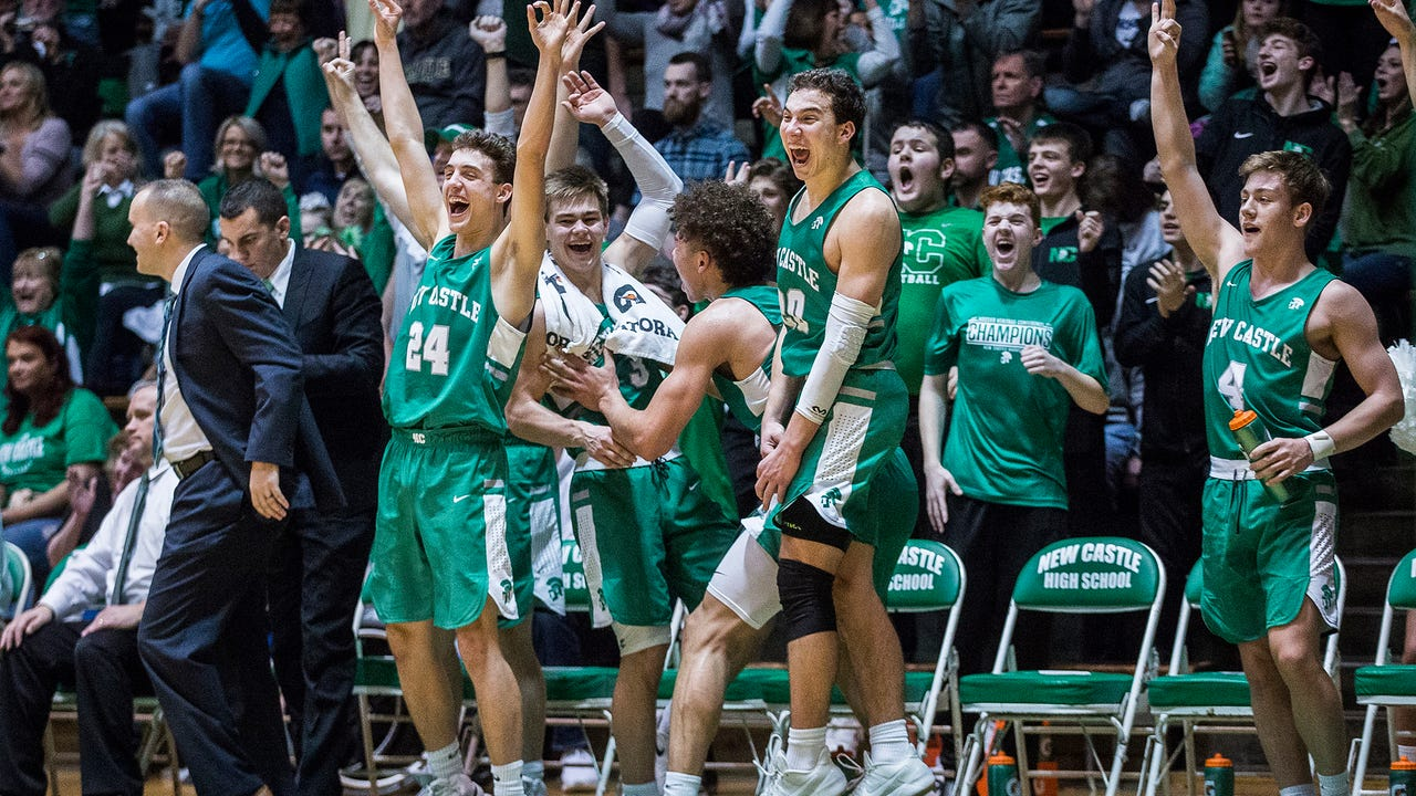 Mason Gillis discusses New Castle's first sectional title since 2008.