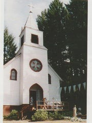 Holy Rosary Church is located in the Cascade Foothills, (elevation is 1642 ft. ) five miles Southeast of Scotts Mills, off Crooked Finger Road.