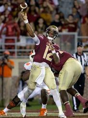 Florida State redshirt sophomore quarterback Deondre