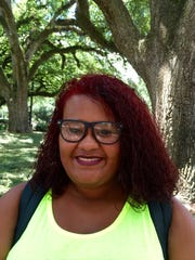 Mariah Bob, 17, is a freshman nursing major from Jeanerette