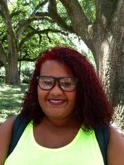 Mariah Bob, 17, is a freshman nursing major from Jeanerette at University of Louisiana at Lafayette.