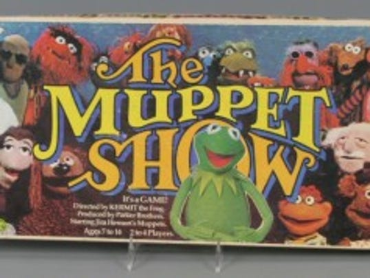 The Muppet Show board game, 1977, courtesy of The Strong, Rochester, New York.