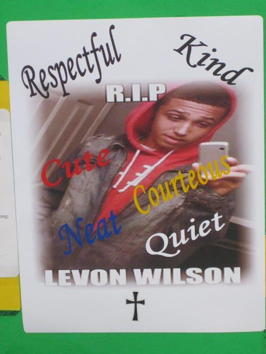 Levon Wilson vigil