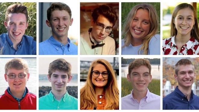 Dover High School top 10 seniors, Class of 2020