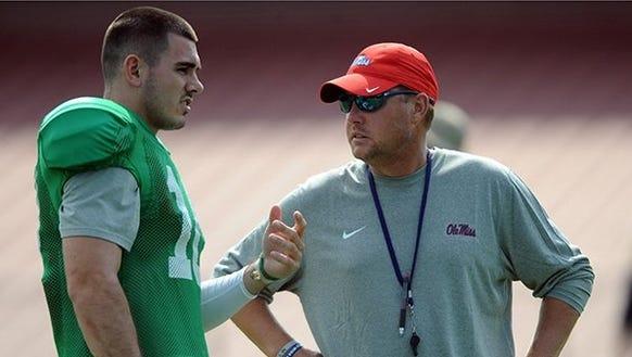 Ole Miss coach Hugh Freeze knows his quarterback,Chad