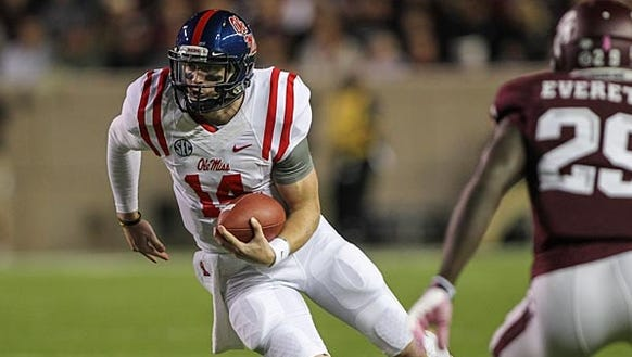 Bo Wallace and the No. 7 Ole Miss Rebels will try to