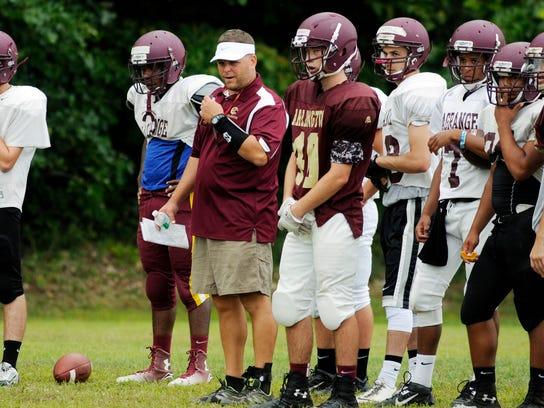 Arlington High School football head coach Dominick