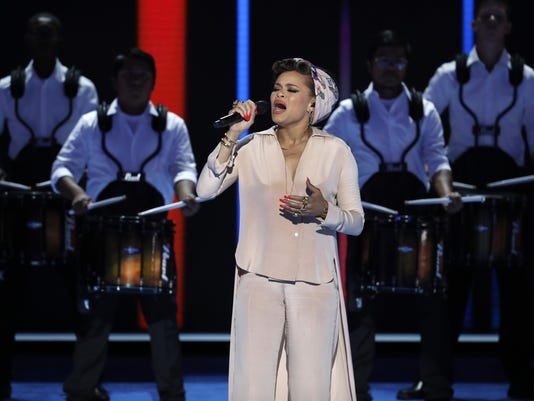 Andra Day with United Percussion (2)