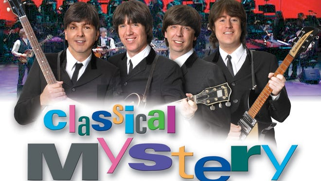 Classical Mystery Tour: A Tribute to the Beatles will perform live with the Sheboygan Symphony Orchestra on Saturday, June 17, at the Stefanie H. Weill Center for the Performing Arts.
