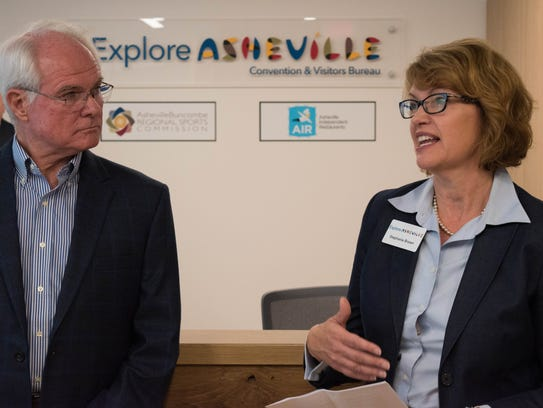 Explore Asheville President and CEO Stephanie Brown