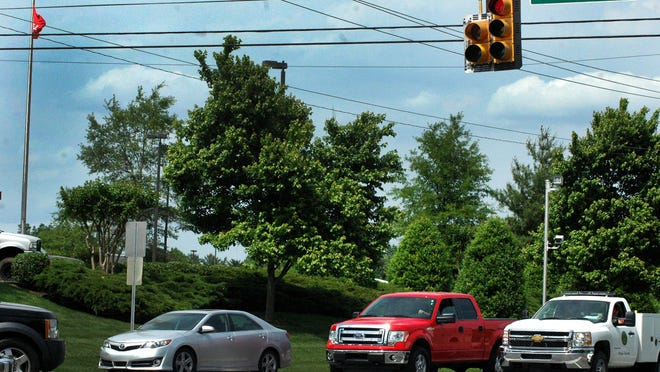 This is one of eight red light cameras throughout the city of Gallatin.