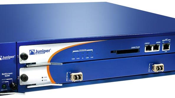 Juniper Networks' NetScreen 5200 VPN, firewall security