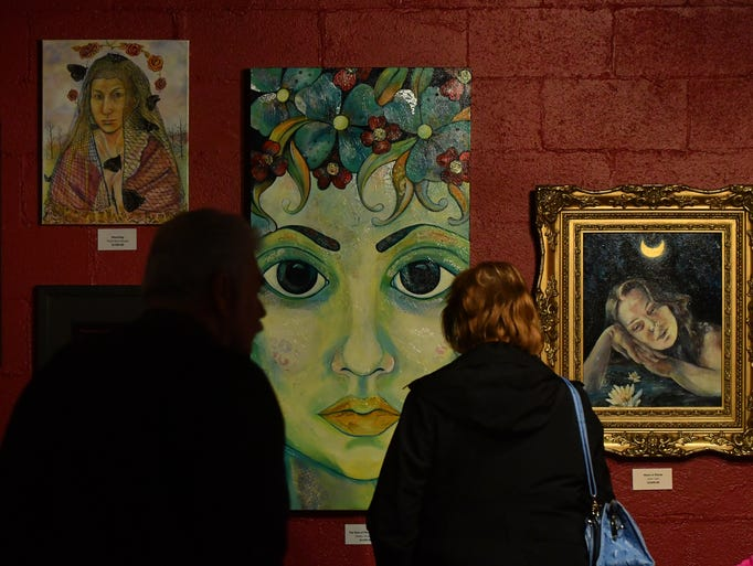 """Shadia Derbyshire's 'The Face of Persephone II"""" greets"""