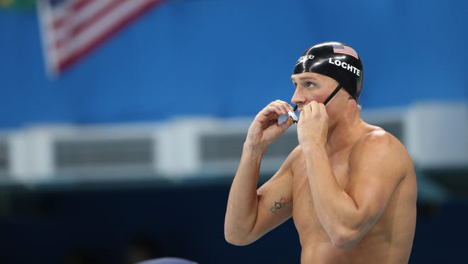 Ryan Lochte is a 12-time Olympic medalist, including one gold while in Rio last year.