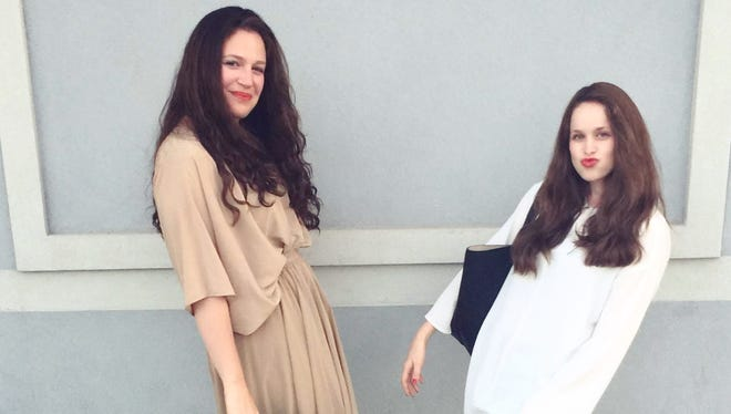 Mimi Hecht and Mushky Notik, co-founders of Mimu Maxi, a website that sells modest fashion.