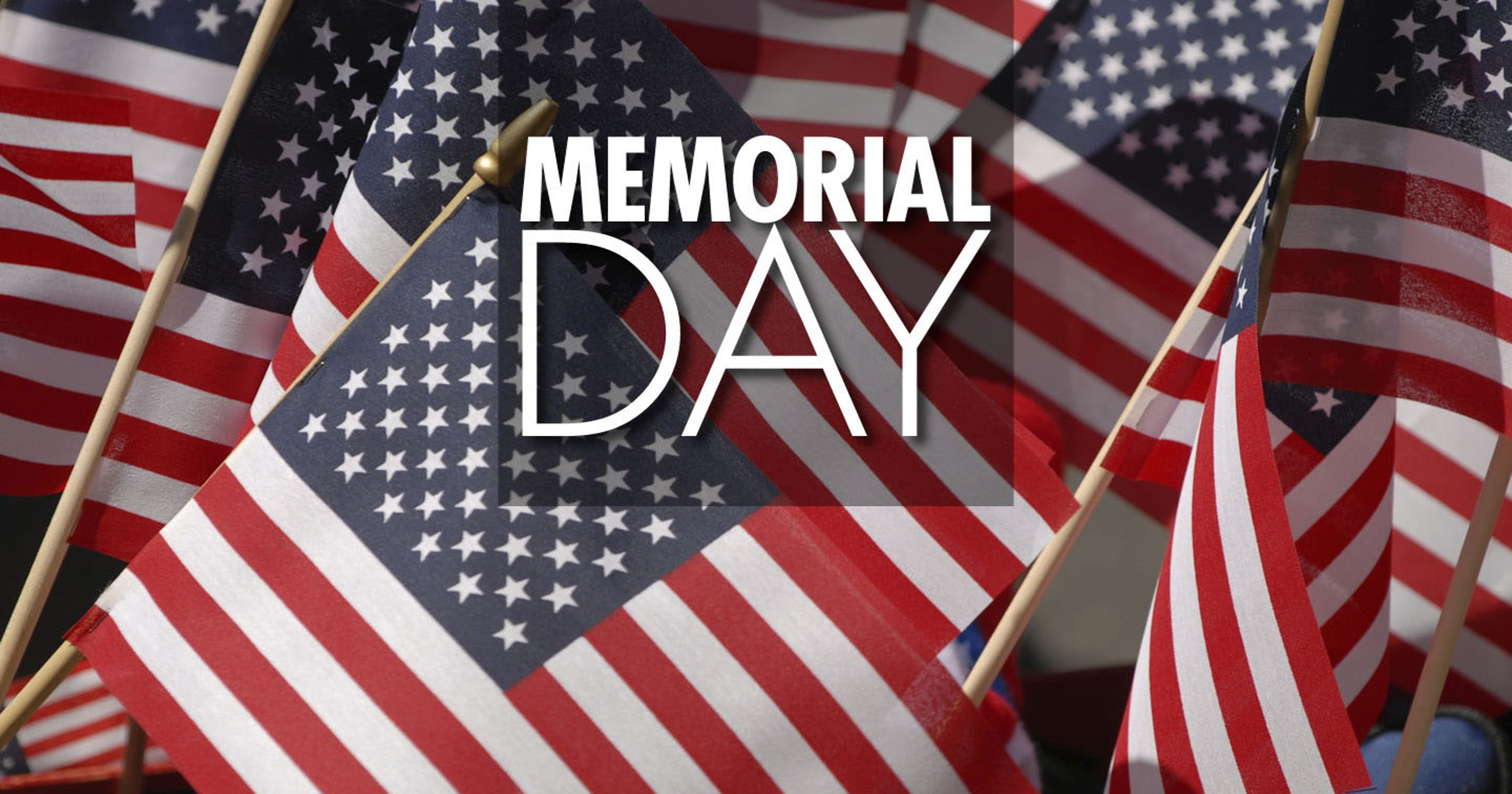 Area Memorial Day services planned