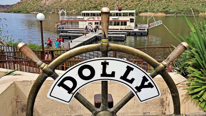 Hop aboard the Dolly Steamboat for a 90-minute nature cruise on Canyon Lake.